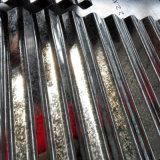 (0.13--1.3m m) Hoja de acero acanalada galvanizada del material para techos con la lentejuela cero