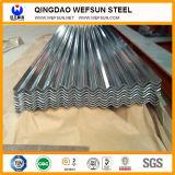 piatto ondulato d'acciaio galvanizzato larghezza di spessore 1000 di 0.8mm