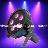 5*10W 4 en 1 LED RGBW à plat par stade LIGHT/LUMIÈRE Disco