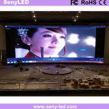 실내/옥외 광고 전시를 위한 이음새가 없는 LED 영상 벽