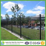 El panel revestido de la cerca del hierro labrado del Faux del polvo barato de la alta calidad del surtidor de China