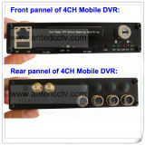 4CH 1080P Hard Drive Mobile DVR H. 264 Truck Alarm Monitoring Solution System