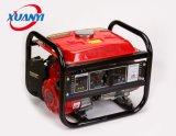 Aluminiumrückzug-Anfangsbeweglicher kleiner leiser Benzin-Generator des draht-1kw