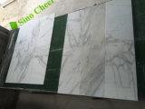 Azulejo de mármol blanco de la pared de Calacatta