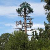 Torre artificial camuflada Monopine de aço das telecomunicações da árvore