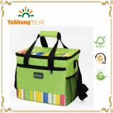 Grand sac de déjeuner isolé par sac de luxe réutilisable à la mode de refroidisseur