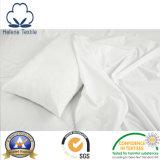 백색 평야 100% Cotton/CVC의 호텔 또는 병원 또는 가정 침대 시트 직물