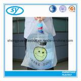 플라스틱 주문 슈퍼마켓 식료품류 조끼 t-셔츠 쇼핑 운반대 부대