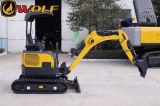 Mini excavatrice (poids d'opération : 1.5~8.3 tonne, capacité de seau : 0.04~0.31m3)