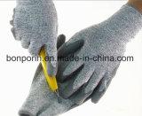 El hilado de Hppe con el acero de Aramid cortó industria alimentaria de trabajo de 5 guantes