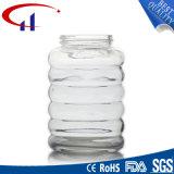 vaso di vetro del miele di vendita calda di alta qualità 280ml (CHJ8154)