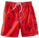 2014 Fashion requin rouge Pour imprimer les lignes de réseau de Natation Sports wear