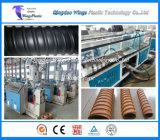 Linha de produção ondulada Prestressed da tubulação da ponte do HDPE/PVC, máquina plástica da tubulação