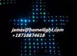 2m * 2 m. P. 18 Hintergrund-Vorhang 30 Programm-LED mit Anblick-Effekten für Festival-Hochzeit, feuerfestes LED-Video-Tuch