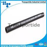Tuyau hydraulique haute pression compacte et à simple et double fil métallique 1 cc / 2 cv