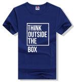 T-shirt occasionnel respirable chaud d'hommes de bonne qualité d'OEM de vente