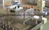 Decoratief het Opruimen van pvc Blad die de Lopende band van het Comité van de Muur van de Machine Maken