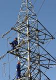 Стальная передающая линия башня