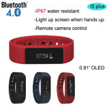 O bracelete esperto de Bluetooth 4.0 com IP67 Waterproof (I5plus)