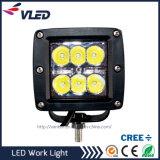 4X4 보조 모는 빛 18W 크리 사람 LED 기계 일 램프