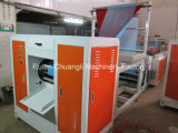 Completa sin núcleo automático C-Fold Papelera laminado máquina de fabricación de bolsas