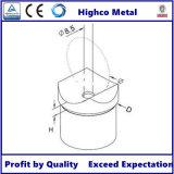 Inferriata/corrimano di vetro della balaustra dell'adattatore di tubo