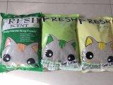 중국에 있는 손잡이 제조자를 가진 고품질 벤토나이트 고양이 배설용상자