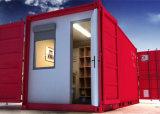 中国の製造者カラー鋼板プレハブの容器の家