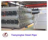 Tubulação de aço galvanizada ERW