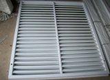 Guichet d'auvent de PVC de profil pour le mur extérieur