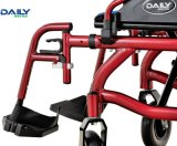 Хозяйственная алюминиевая складывая кресло-коляска Dp602 электричества