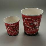 Taza de papel biodegradable de calidad superior de la venta caliente