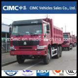 Sinotruk HOWO caminhão de caixa basculante 6*4 336HP Etiópia Veículo