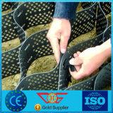 Strength met grote trekspanning HDPE Geocell voor Reinforcement van Rivierbed The