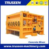 Machine portative de construction de mélangeur concret d'arbre électrique pour le projet important