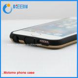 Spin 2 van Motomo in 1 Geval van de Telefoon van TPU en van PC Mobiel voor iPhone 6s/6p