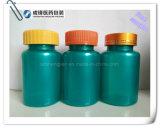 Bouteille ronde en plastique d'animal familier chaud de la vente 100ml pour la tablette pharmaceutique