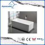 浴室の白く支えがないアクリルの浴槽(AB1552W-1500)