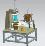 Flowerpot-Loch, das Maschine herstellt