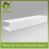 dekorative quadratische Aluminiumdecke des Gefäß-50W*40h
