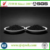 Diferentes tamaños de grano para la extracción de carbón activado gas residual