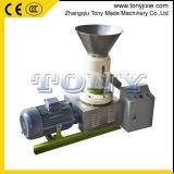 Usine Mini machine à granulés de bois de la biomasse d'alimentation