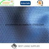 布のための2つの調子の柔らかい光沢があるライニングを並べる100ポリエステル標準的で小さいジャカード