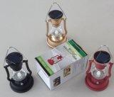 De zonne Retro het Kamperen Lamp van de Lantaarn met het Ontwerp van de Lamp van de Kerosine van Fabriek ISO9001