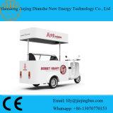 Carro portátil aprovado Ce do alimento para vender o gelado ou os outros petiscos
