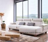 Europäisches antikes Sofa stellte mit Handunterseite ein