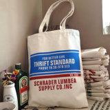 カスタムロゴによって印刷される綿浜袋の卸売