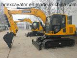 Excavatrice neuve de chenille d'excavatrices de Baoding 9ton petite
