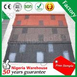Almacén de Nigeria mosaico de piedra de Shingle Ruberoida Material de construcción de una muestra gratis