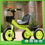 最もよい安全安い価格の子供押しのTrikeの2016人の赤ん坊、金属フレーム、エヴァ/空気タイヤの赤ん坊の三輪車のための熱い販売の子供の三輪車